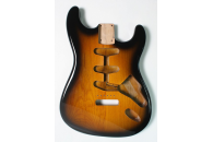 New! Stratocaster N.O.S. Bodies - Thin poly finish - Alder - 2 Tone Sunburst
