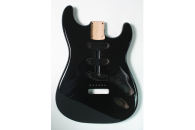 New! Stratocaster N.O.S Body - Thin poly finish - Alder - Black