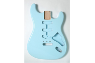 New! Stratocaster N.O.S. Body - Thin poly finish - Alder - Sonic Blue