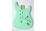 New! Stratocaster N.O.S. Body - Thin poly finish - Alder - Surf Green
