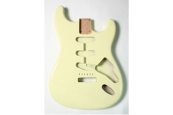 New! Stratocaster N.O.S. Body - Thin poly finish - Alder - Olympic White