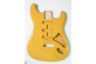 New! Stratocaster N.O.S. body - Thin poly finish - Ash - Butterscotch