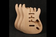 Stratocaster Bodies - American Red Alder - Unfinished