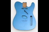 New! Telecaster N.O.S. Body - Thin poly finish - Alder - LPB - Double Binding