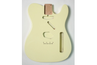 New! Telecaster N.O.S. Body - Thin poly finish - Alder - Olympic White