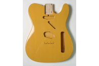 New! Telecaster N.O.S. Body - Thin poly finish - Ash - Butterscotch