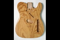 New! Telecaster N.O.S. body - Thin poly finish - Ash - Natural