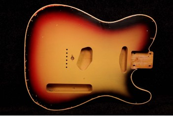 Tele Body with Binding Finished