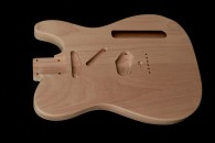 Tele Bodies Unfinished - American Red Alder - Hollow