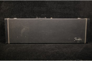 Fender 1975 Black Tolex Case for Mustang/Musicmaster Bass