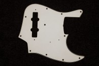 J-Bass Pickguard Vintage White - 3 Ply