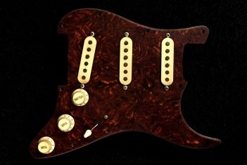 Loaded Pickguard 60-64 Celluloid Tortoise