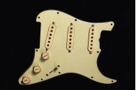 Loaded Pickguard 1963/1965 Greenish with Cream Knobs and Pickup Covers
