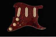 Loaded Pickguard 1963/1965 Celluloid Tortoise - Reddish - 4 Ply