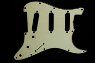 Strat Pickguard 1964 Greenish Celluloid 1