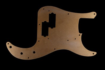 P-Bass Pickguard Gold Anodized