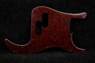 P-Bass Pickguard Celluloid Tortoise - 4 Ply