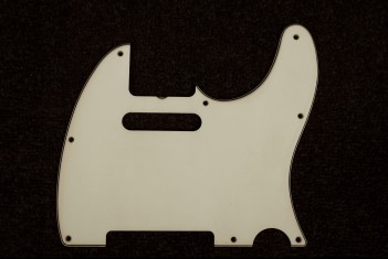 Tele Pickguard 62 Greenish - 3 Ply