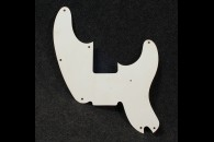 P-Bass Pickguard 57 Single ply White