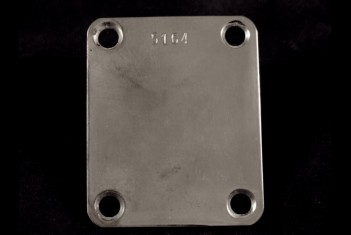 Neck Plate 50's with serial number