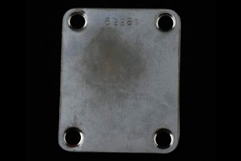 Neck Plate 60's with serial number
