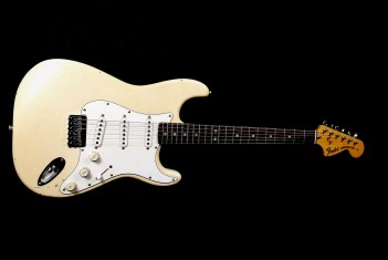 Fender Stratocaster 1973 Olympic White Hardtail Pro-Refin