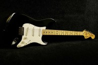 Fender Stratocaster 1975 Black Hard tail - All Original!