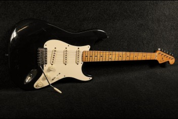 Fender Stratocaster 1987 American Vintage Reissue 57' Black Comes with original case! - SOLD!