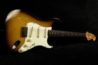 Fender Stratocaster 1973  3-Tone Sunburst hard tail