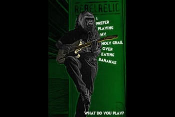 RebelRelic Poster Animal series Gorilla - SOLD OUT!!
