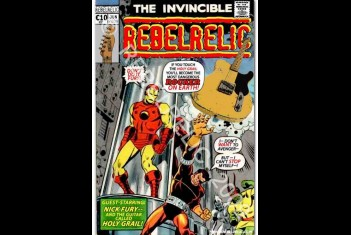 RebelRelic Cult Poster Comic HG  - SOLD OUT!