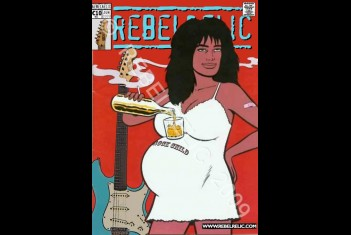 RebelRelic Cult Postcard ROCK CHILD