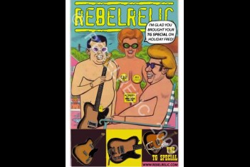 RebelRelic Cult Postcard NUDIST CAMP TGII