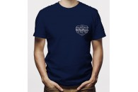 RebelRelic T-shirt Navy Blue Badge
