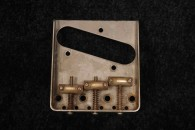 Telecaster Bridge with Saddles 50s Aged