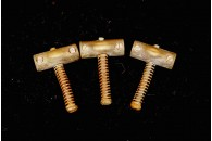 Tele Saddles 50's Brass