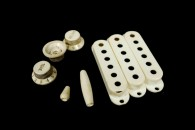 Strat Plastic Parts Full Set 57 Parchment
