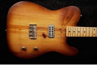 RebelRelic 400 Year Old Pine 2x4 Honey Burst