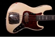 RebelRelic J-Series Bass 66 Olympic White over Sunburst
