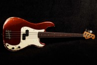 RebelRelic P-Series Bass 62 Candy Apple Red
