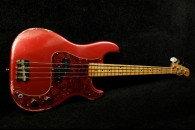 RebelRelic  P-Series Bass Custom Candy Apple Red SOLD!
