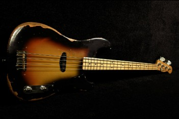 RebelRelic P-Series Bass 58  3-Tone Sunburst - SOLD!