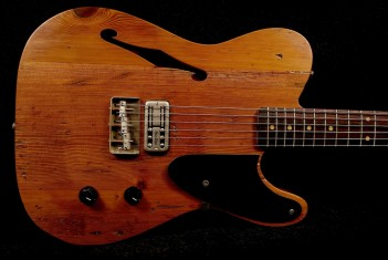 RebelRelic 400 Year Old Pine Holy Thinline Natural - SOLD!