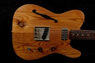 RebelRelic 400 Year Old Pine Thinline Natural SOLD!