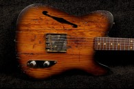 RebelRelic 400 Year Old Pine Holy Thinline Tobacco Sunburst SOLD!