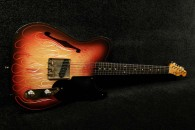 RebelRelic Holy Thinline 3 Tone Sunburst