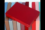 Nitrocellulose lacquer spray paint Color coat - Dakota Red