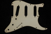 Strat Pickguard 1961/62 Greenish Real Celluloid 1