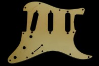 Strat Pickguard 1961/62 Greenish Celluloid 2