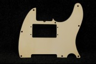 Original Fender 1968/69 Tele Pickguard 3 Ply White Pearloid back
